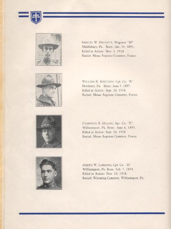 314th Infantry Regiment A.E.F. - Nineteenth Annual Reunion - 1937 - Page 10