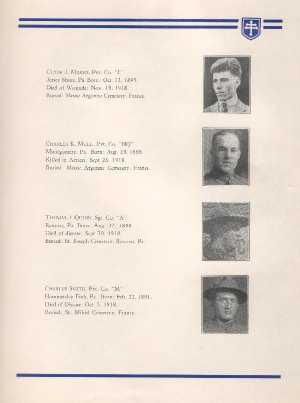 314th Infantry Regiment A.E.F. - Nineteenth Annual Reunion - 1937 - Page 11