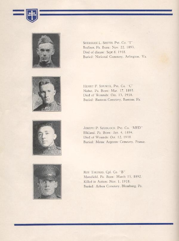 314th Infantry Regiment A.E.F. - Nineteenth Annual Reunion - 1937 - Page 12