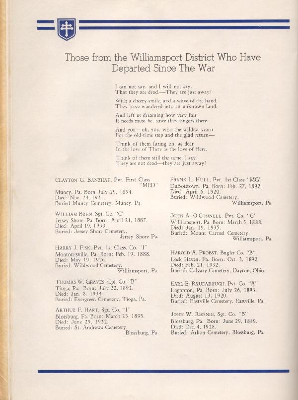 314th Infantry Regiment A.E.F. - Nineteenth Annual Reunion - 1937 - Page 14