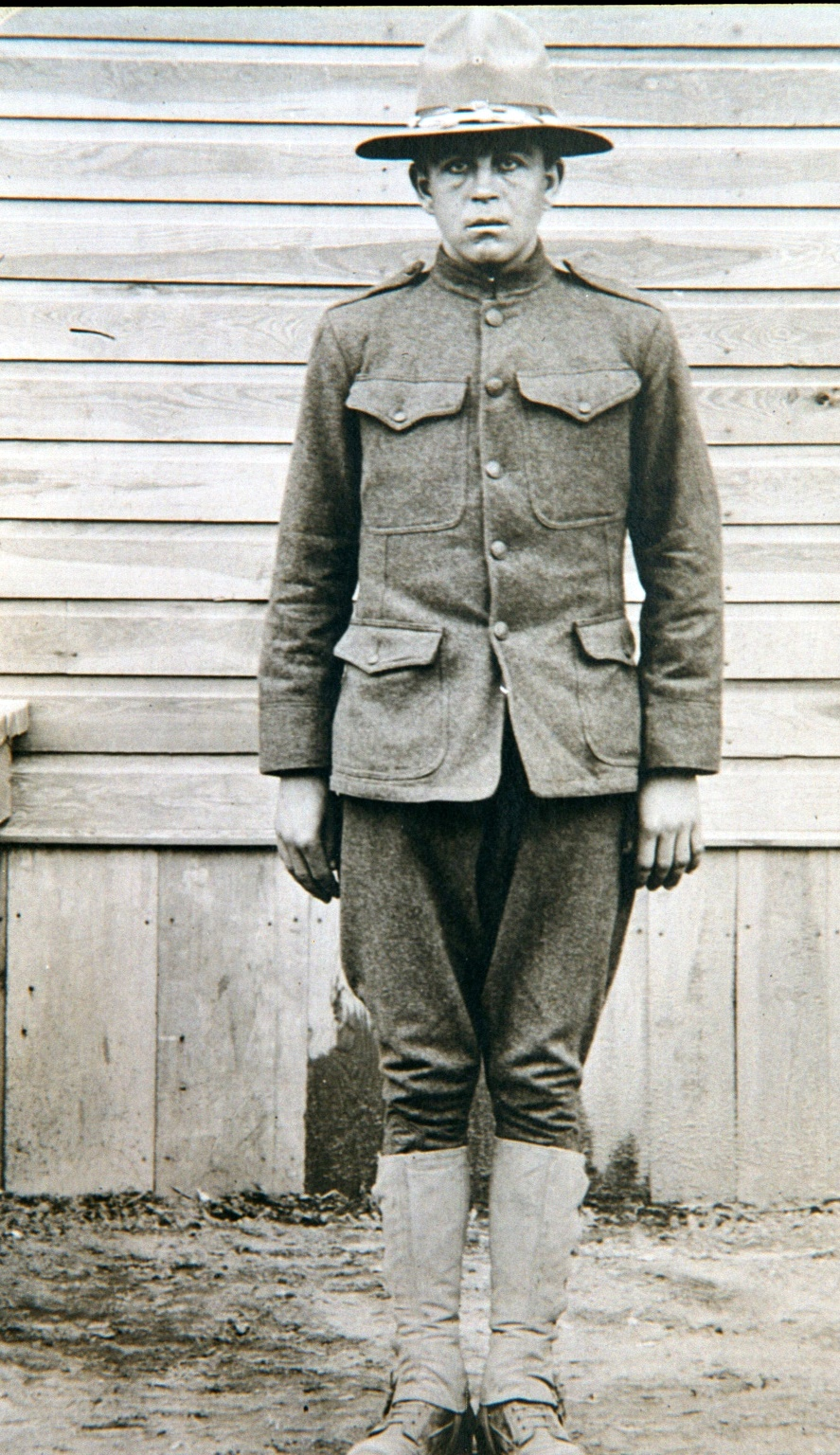 Guy E. Klinger in Uniform, Supply Company, 314th Infantry