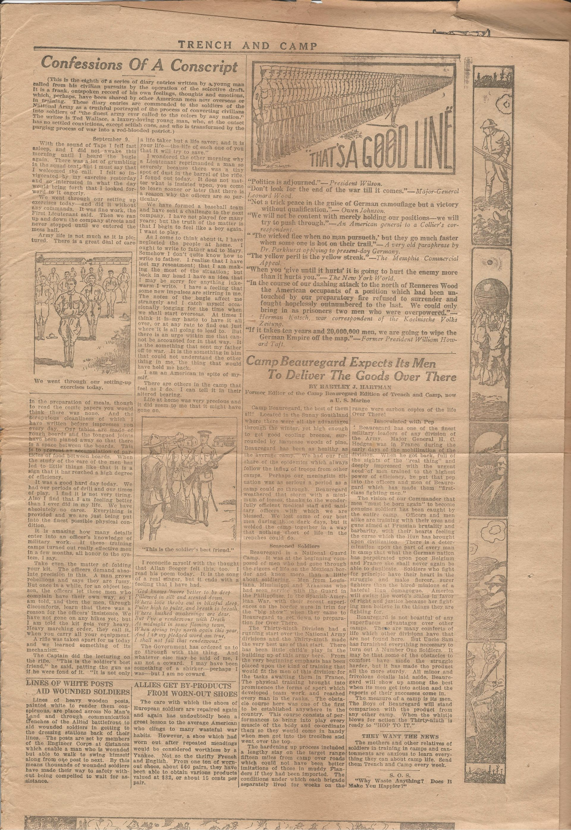 Trench and Camp Newspaper July 18 1918 Page 7
