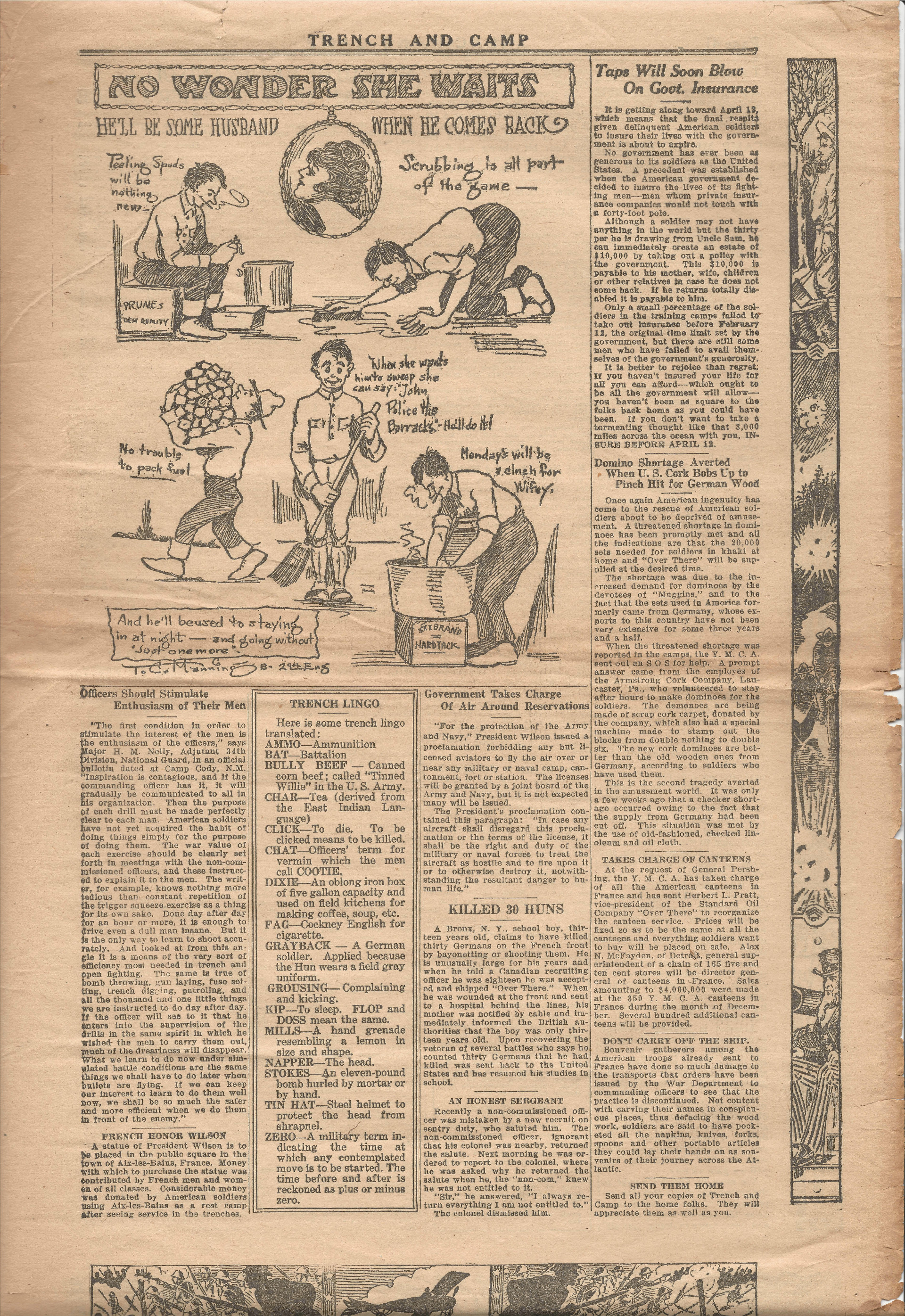 Trench and Camp Newspaper March 27 1918 Page 3