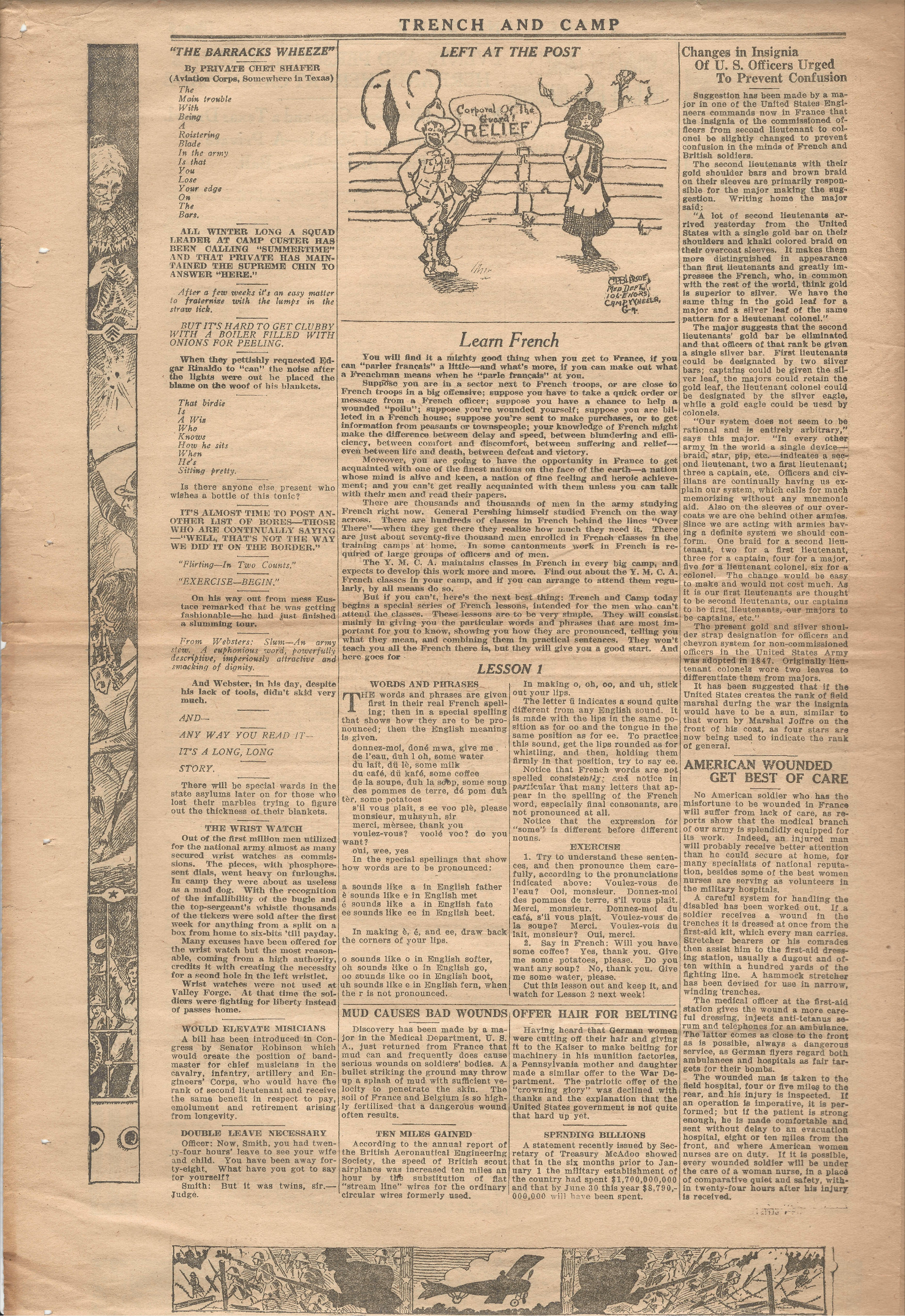 Trench and Camp Newspaper March 27 1918 Page 6