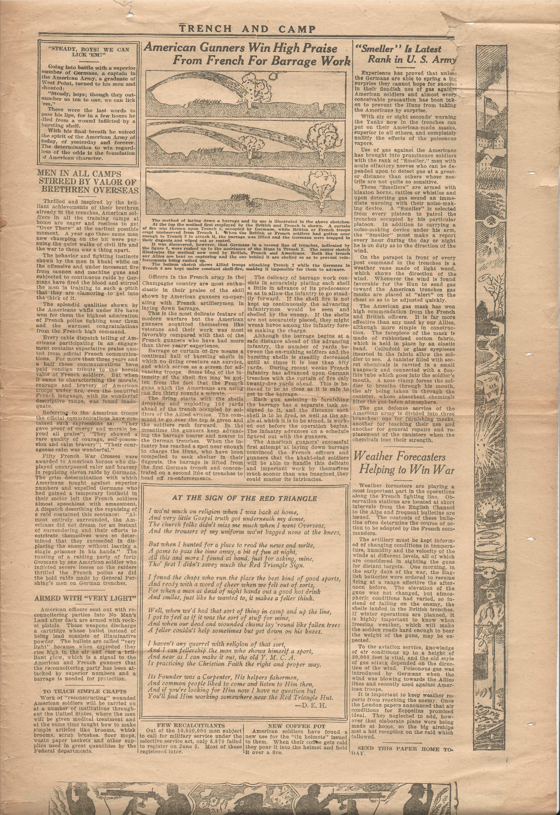 Trench and Camp Newspaper March 27 1918 Page 7