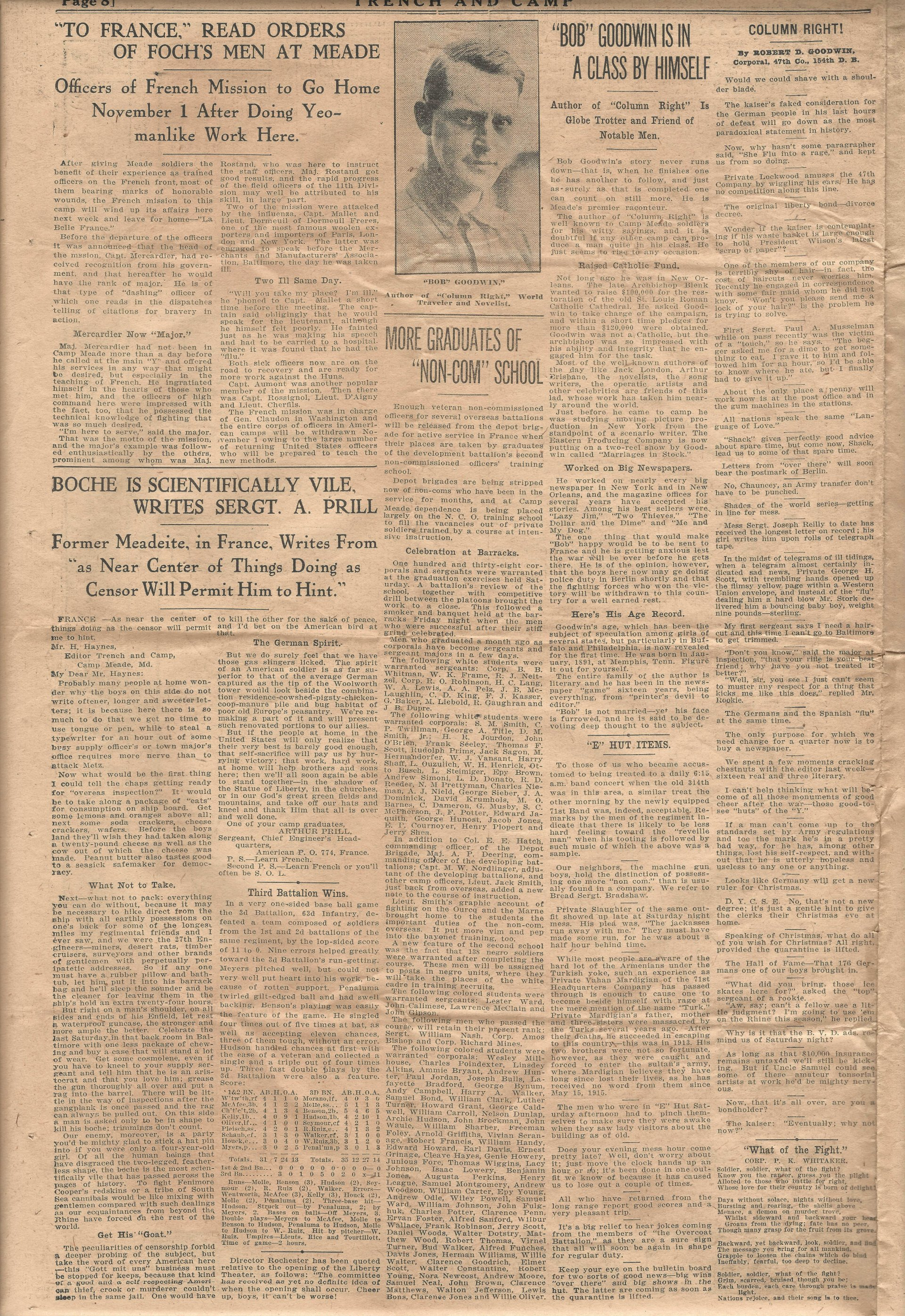 Trench and Camp Newspaper October 24 1918 Page 8