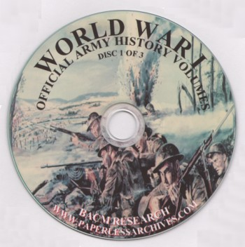 314th Infantry Amazon book World War I Official Army History - 25 Volumes [CD-ROM] by BACM Research ISBN