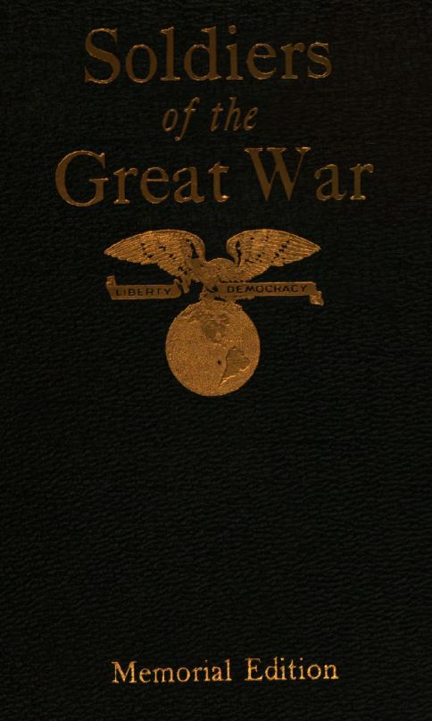314th Infantry - Soldiers of the Great War - in 3 Volumes - Book Cover