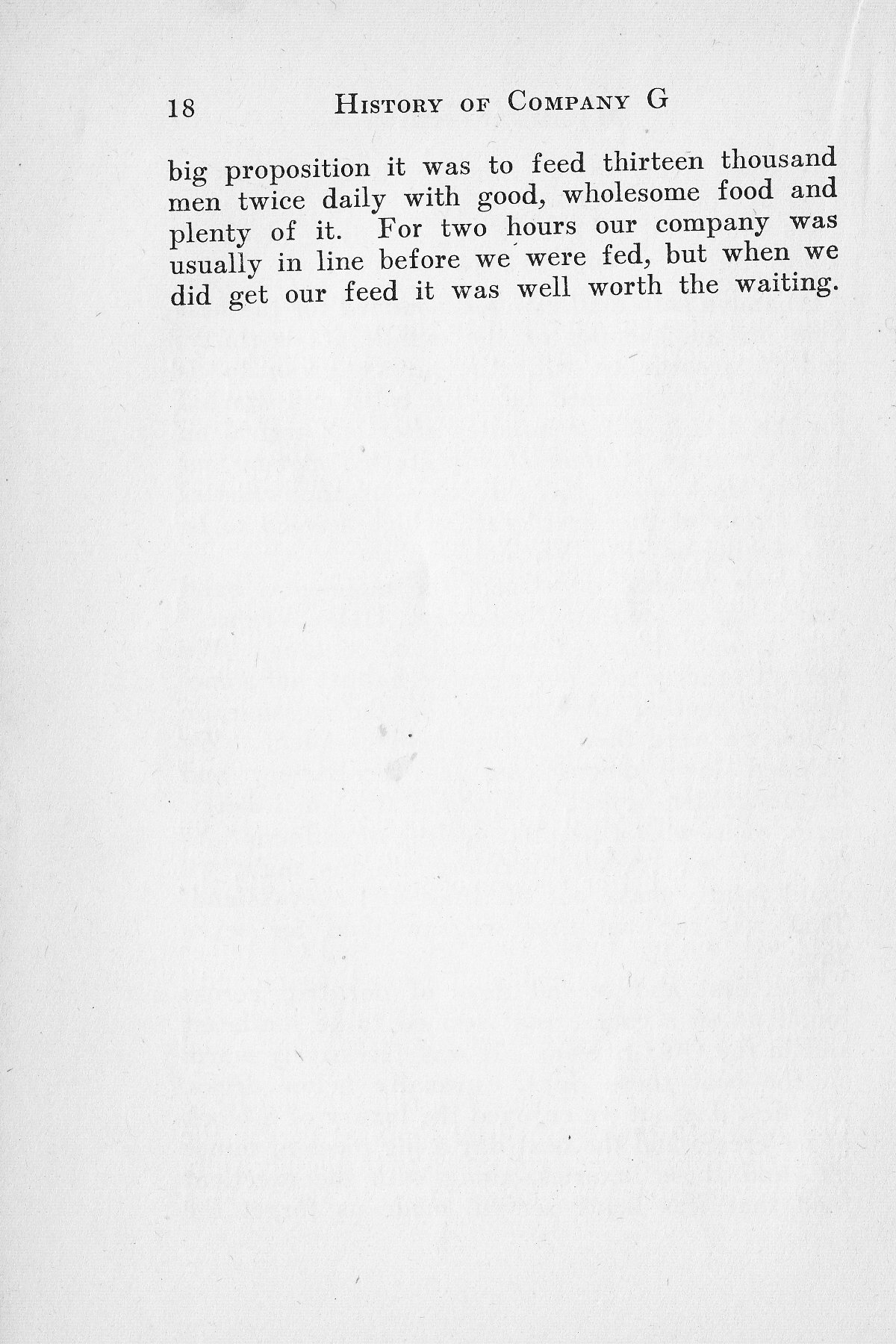 History of Company G 314th Infanty - Page 018