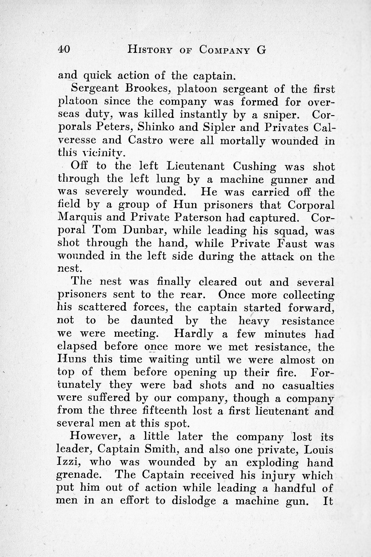 History of Company G 314th Infanty - Page 040