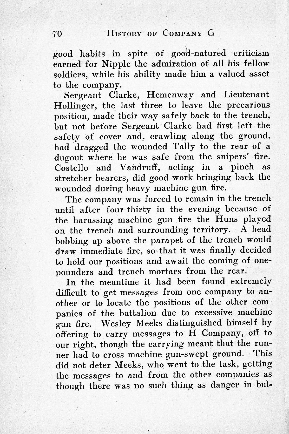 History of Company G 314th Infanty - Page 070