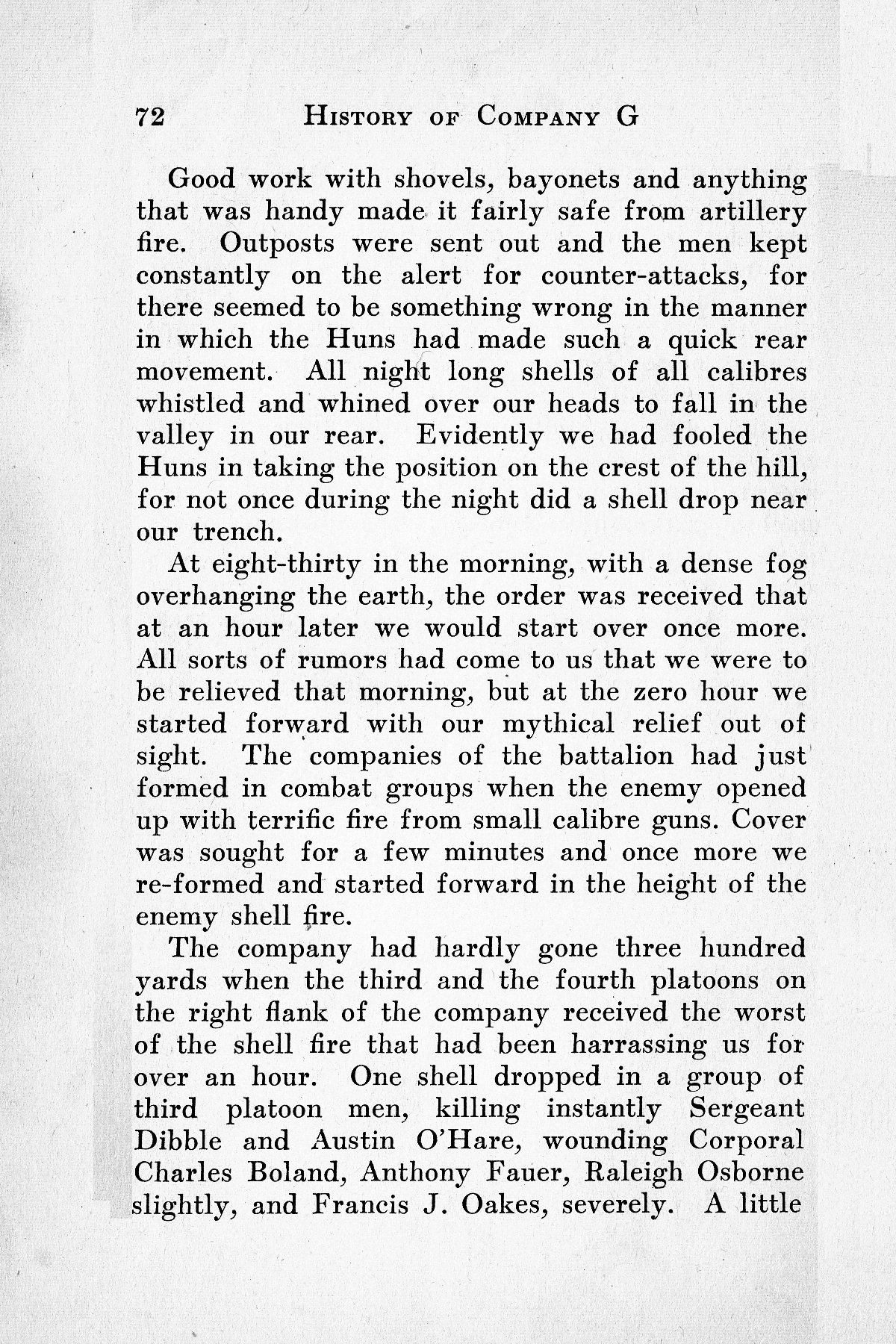 History of Company G 314th Infanty - Page 072