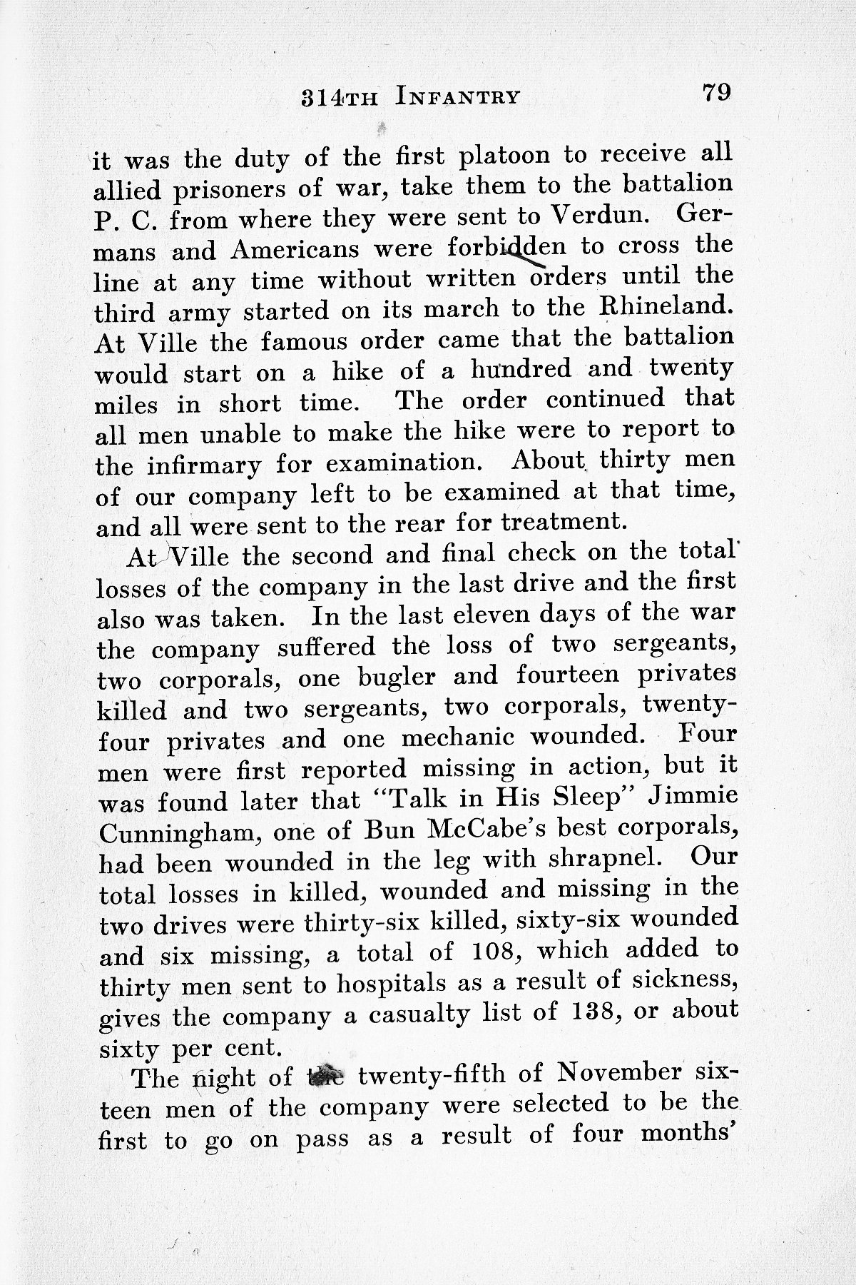 History of Company G 314th Infanty - Page 079
