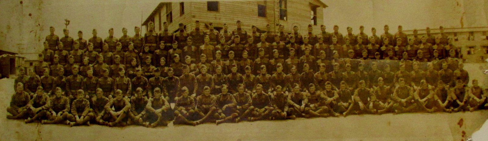 Hoard Johnson - Machine Gun Company 314th Infantry 1919 just back from France
