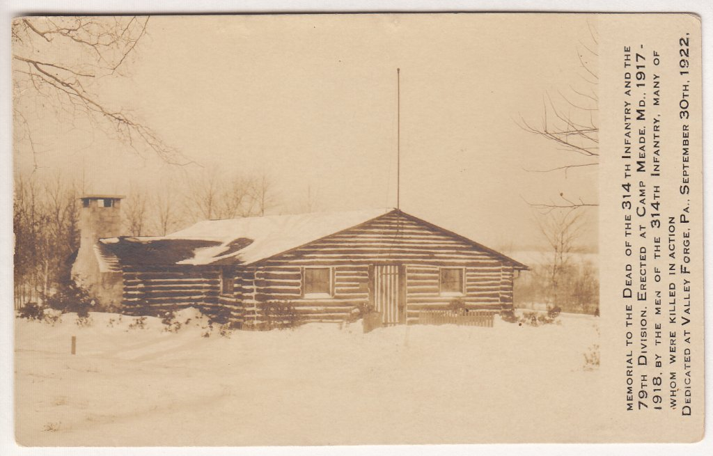 314th Log Cabin - Winter 1922