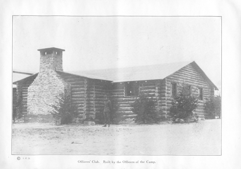 Actual Photo of 314th Cabin at Camp Meade 1918