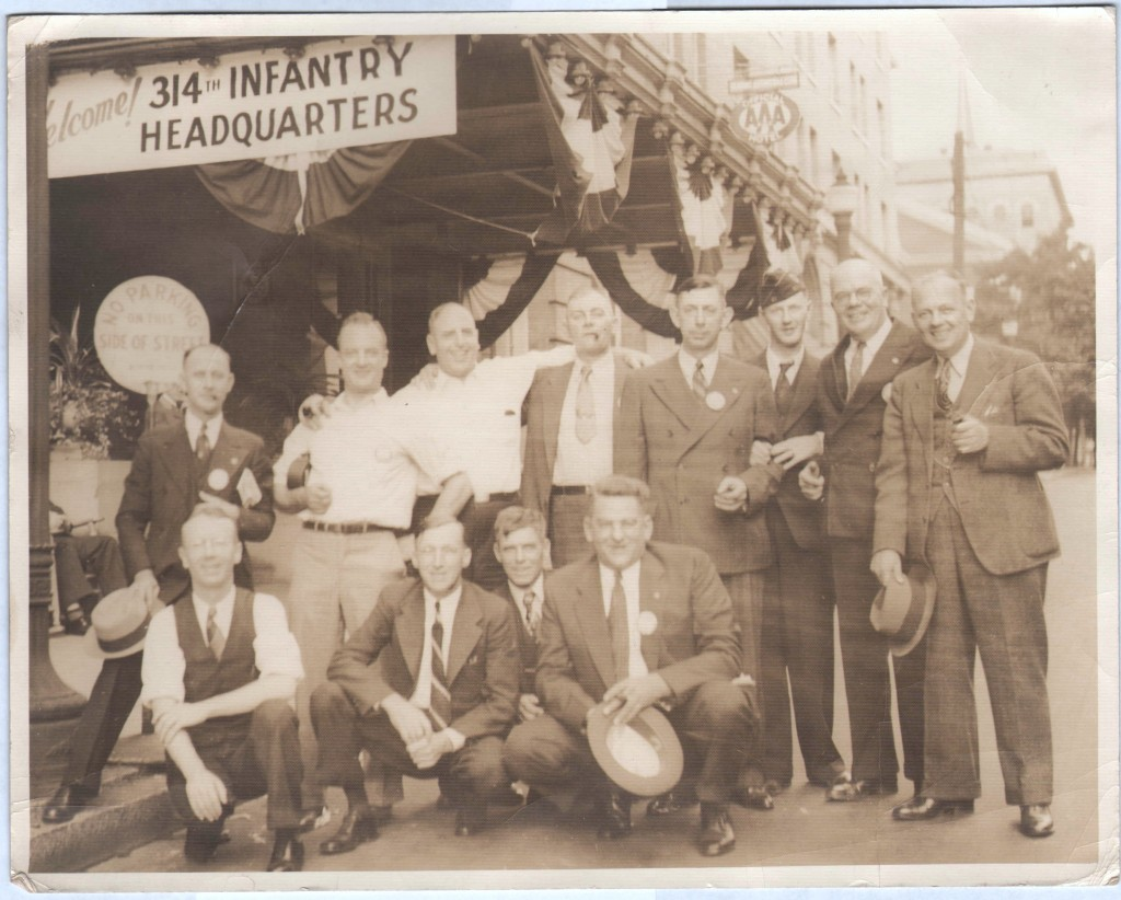 Photo 314th Infantry Headquarters Reunion (unknown date)