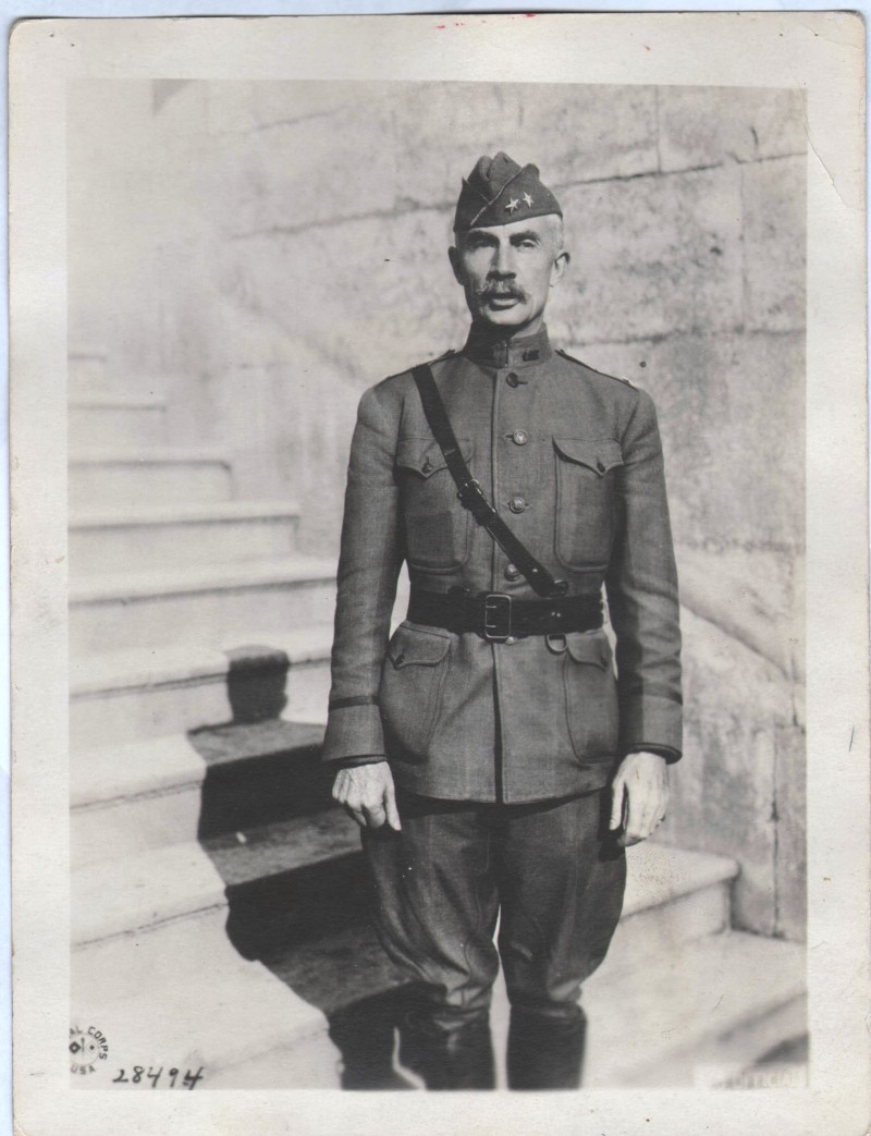 October 23 1918 Photo General Joseph Kuhn Commanding Officer 79th Division (front)