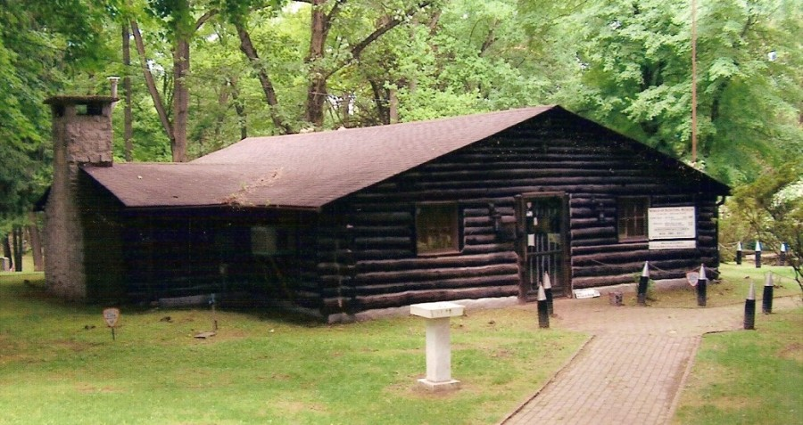 314th Infantry Regiment A.E.F. Log Cabin - Valley Forge