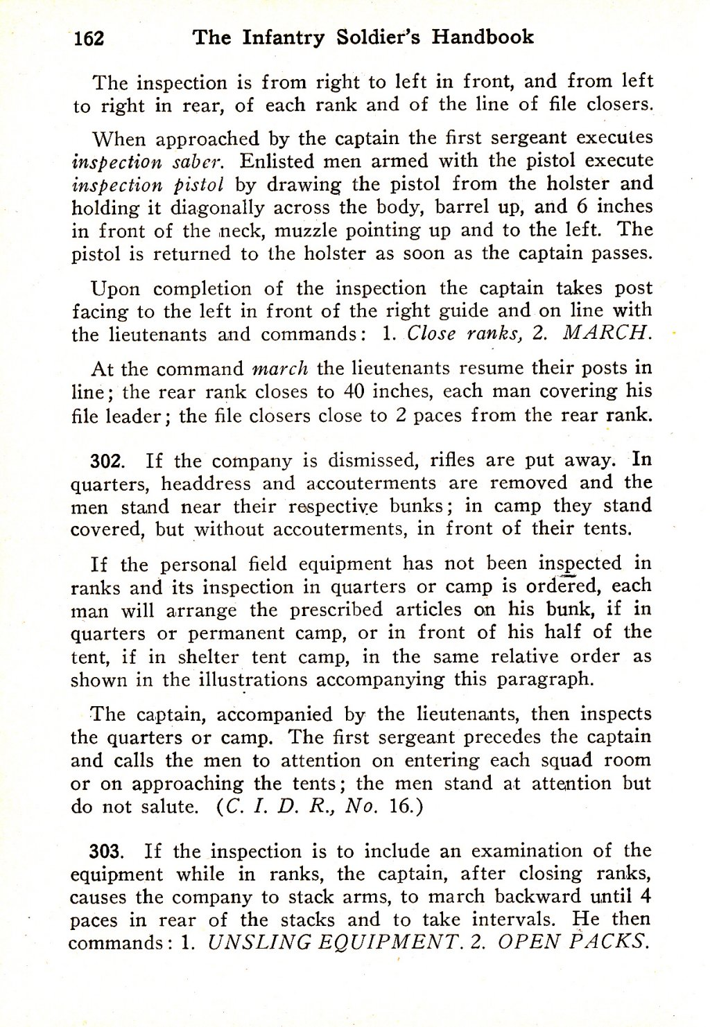 314th Infantry Regiment - Infantry Soldiers Handbook - Waldron - Page 162