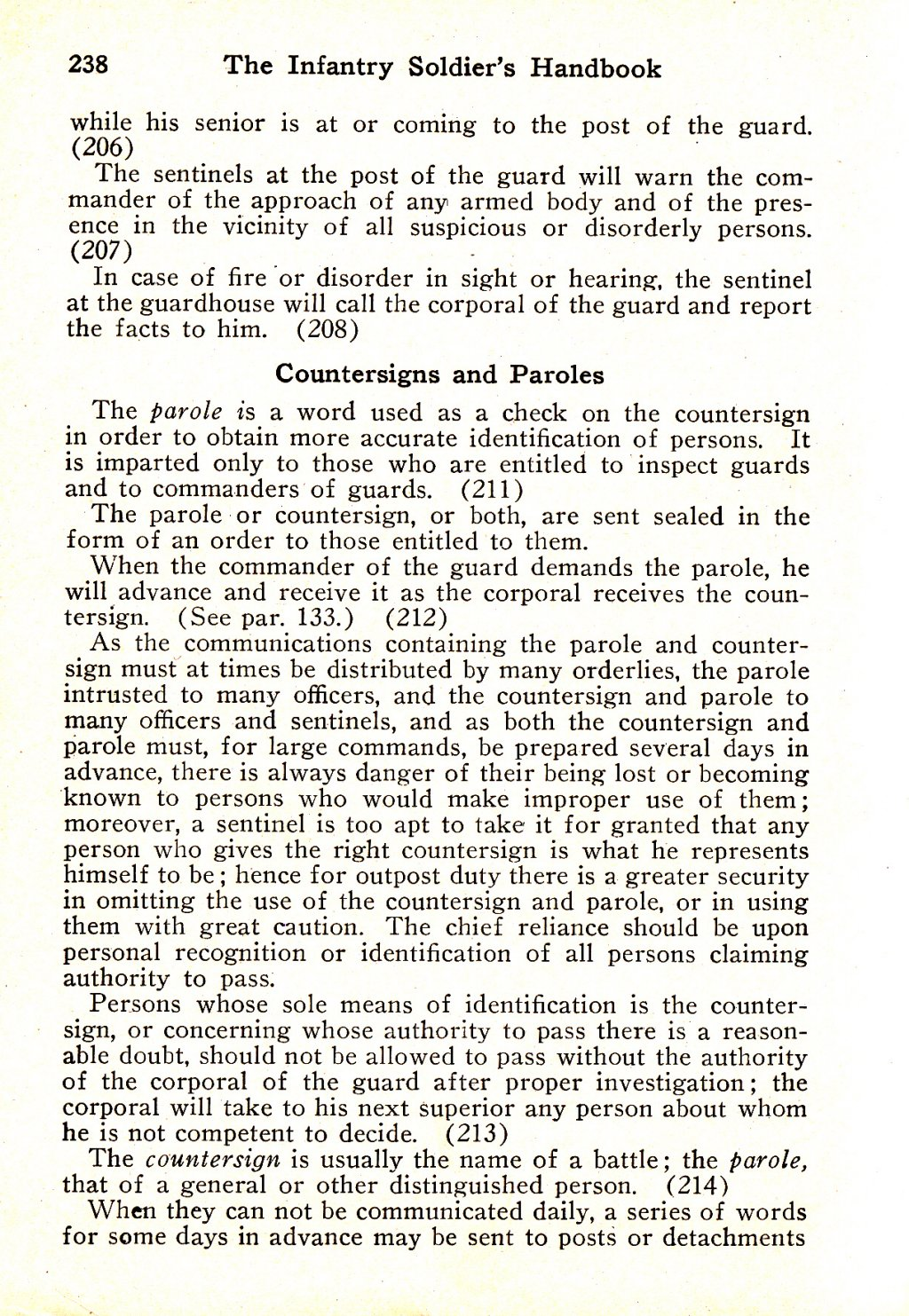 314th Infantry Regiment - Infantry Soldiers Handbook - Waldron - Page 238