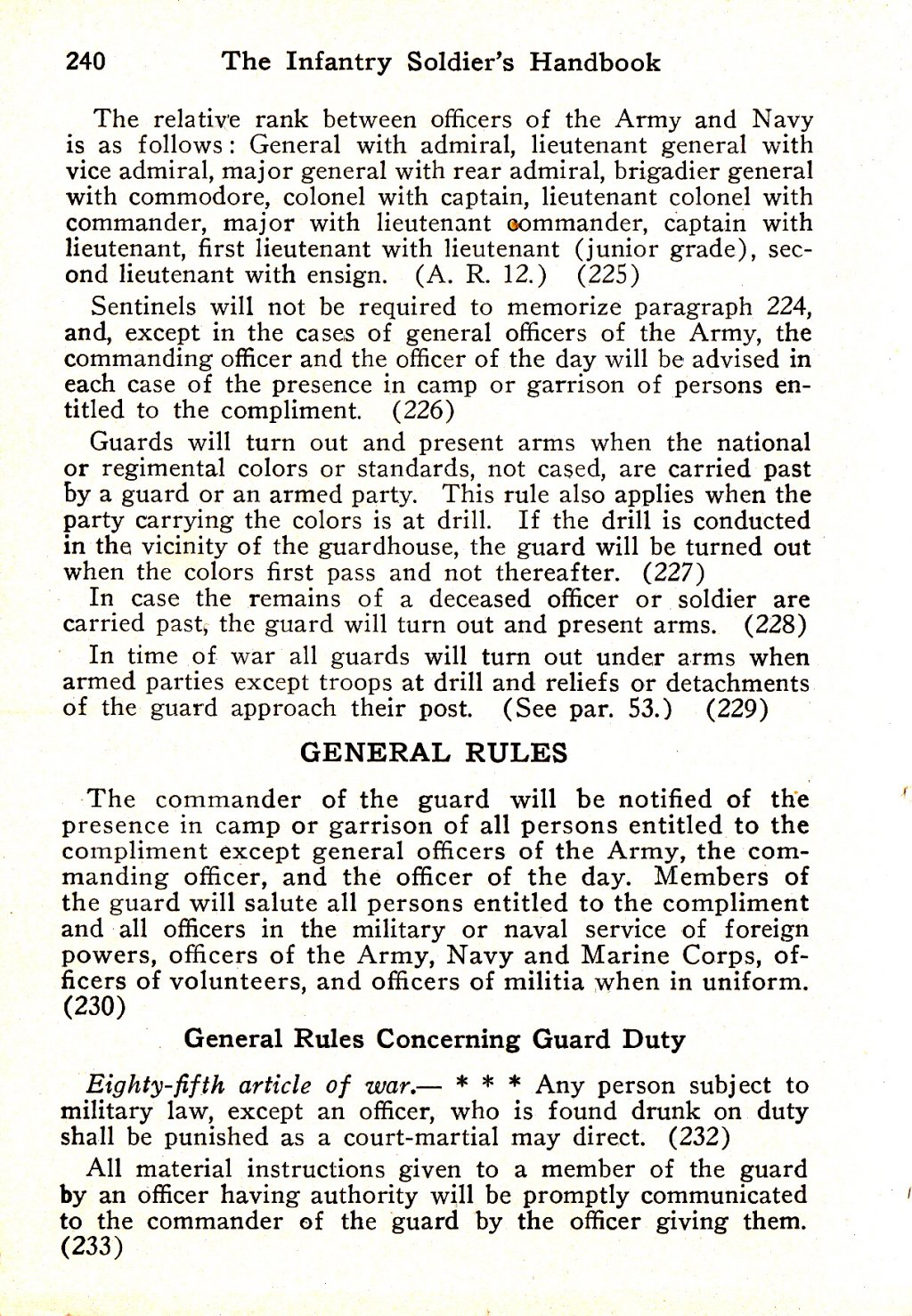 314th Infantry Regiment - Infantry Soldiers Handbook - Waldron - Page 240