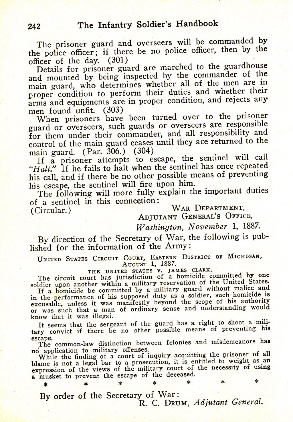 314th Infantry Regiment - Infantry Soldiers Handbook - Waldron - Page 242