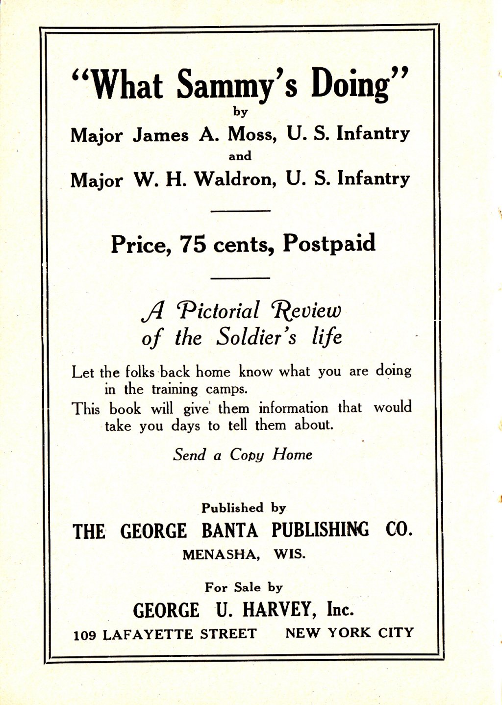314th Infantry Regiment - Infantry Soldiers Handbook - Waldron - Page 250
