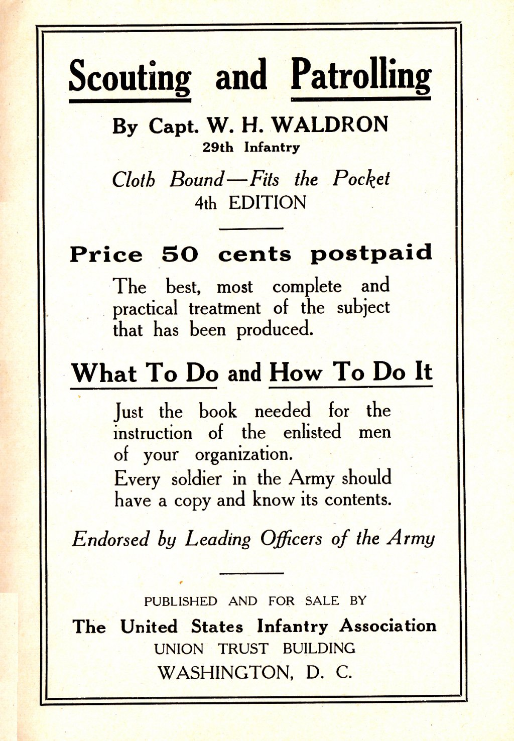 314th Infantry Regiment - Infantry Soldiers Handbook - Waldron - Page 251
