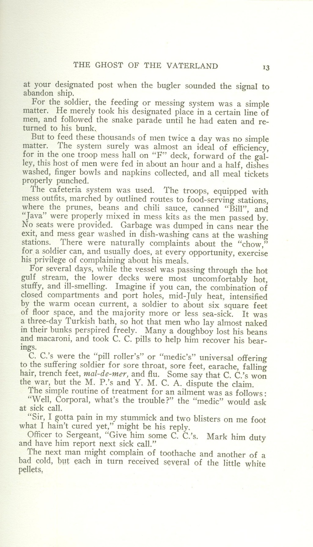 Veterans 314th Infantry Regiment A.E.F. - Under The Lorraine Cross - book by Arthur H. Joel - 1921 - Page 013