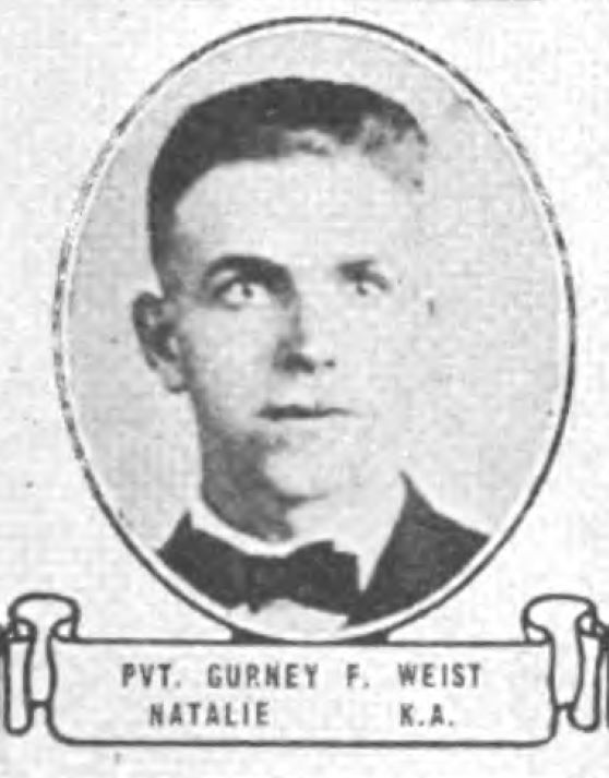 314th Infantry Regiment A.E.F. - Gurney Weist photo from the book Soldiers of the Great War
