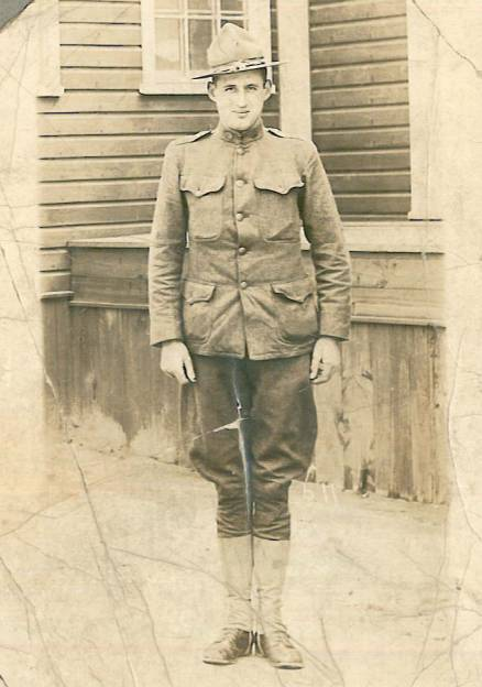James-Everett-Whitemanh, Company A,314th Infantry, 79th Division A.E.F.