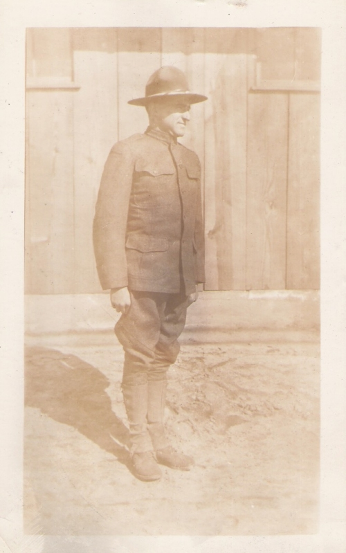 John L. Shetler - 314th Infantry - Machine Gun Compnay - Cook - 1917 photo